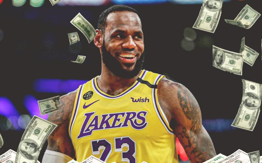 Chi lương khủng, Los Angeles Lakers gia hạn hợp đồng thành công cùng LeBron James