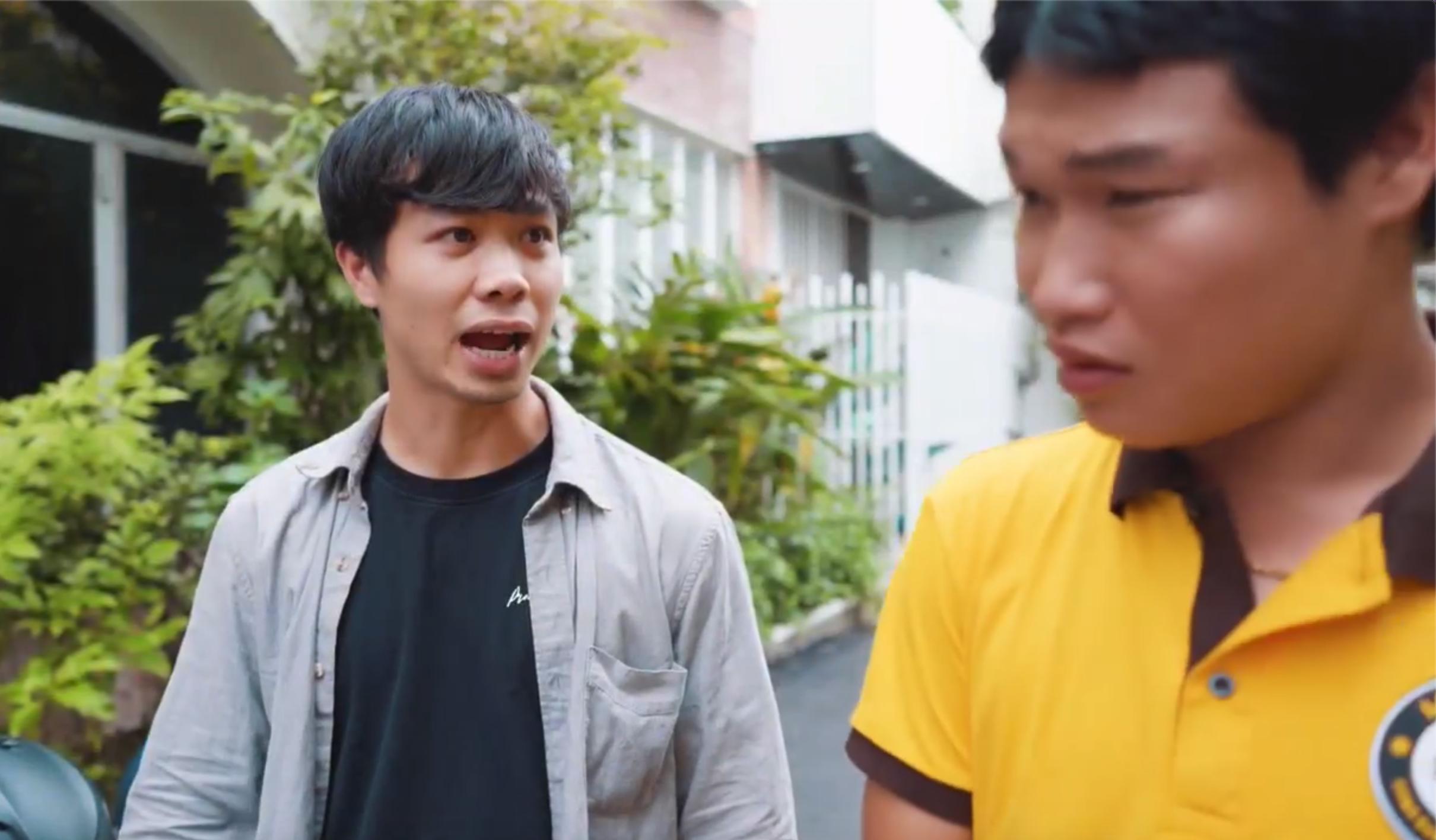 Anh xe ôm Công Phượng xuất hiện với lời thoại hài hước trong trailer phim đám cưới bạn thân - ảnh 4