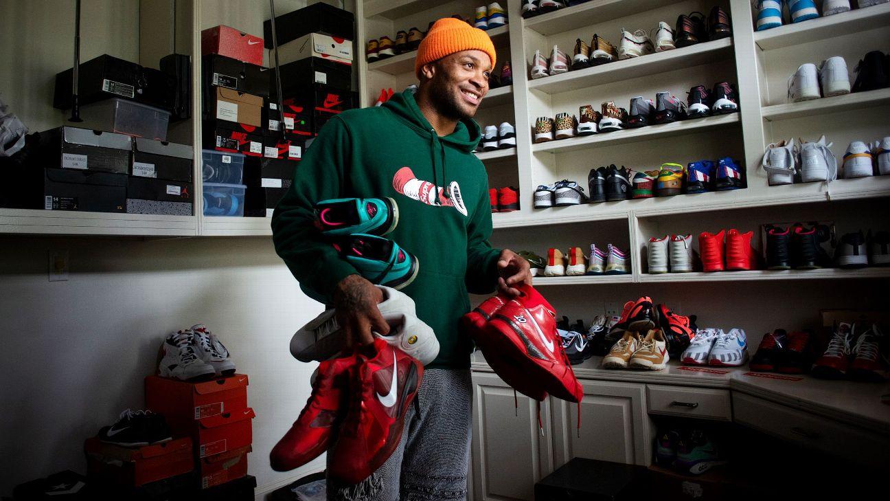 Tranh thủ thời gian NBA hoãn do dịch Covid-19, PJ Tucker ôm mộng trở thành ông chủ tiệm giày - Ảnh 2.