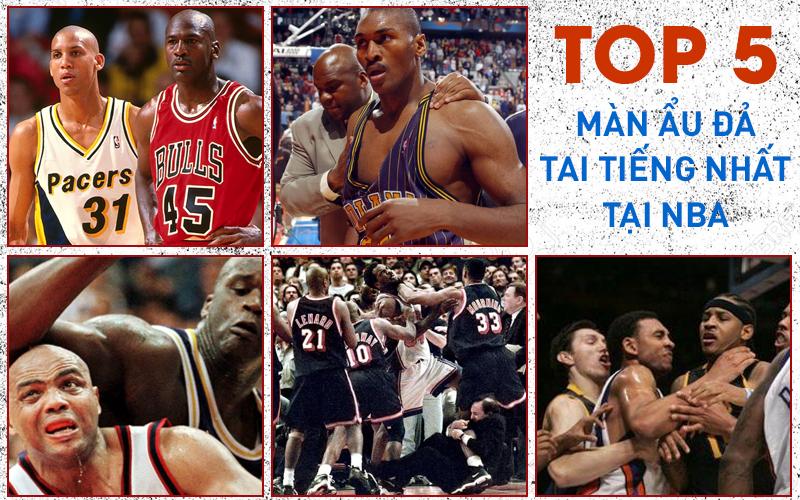 5 màn loạn đả tai tiếng nhất lịch sử NBA: Ẩu đả tập thể ở TD Garden và cơn ác mộng đen tối tại Malice Palace