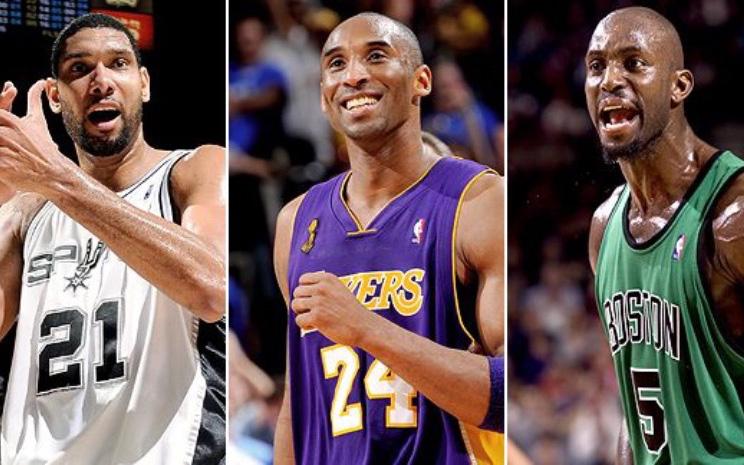 Kobe Bryant, Tim Duncan và Kevin Garnett chính thức ghi tên vào Sảnh danh vọng Naismith