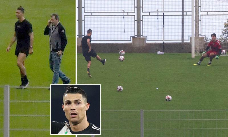 Thủ thành trẻ kể lại lần được trở thành bia tập bắn cho Ronaldo: Cứ như là giấc mơ, được cho tiền nhưng sướng nhất vẫn là trải nghiệm - Ảnh 1.