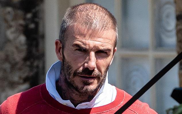 David Beckham bất ngờ xuất hiện với diện mạo khác lạ, có dấu hiệu bị hói đầu