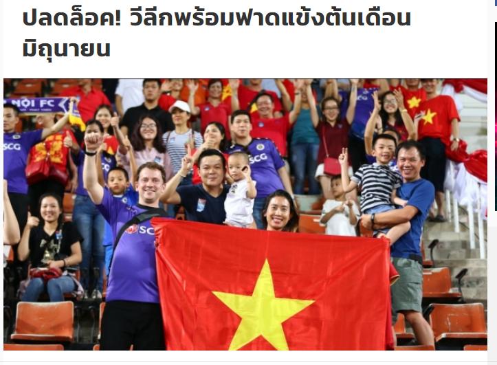 Bóng đá Việt Nam trở lại và thu hút sự chú ý của truyền thông quốc tế bằng những trận cầu đặc biệt nhất thế giới - ảnh 1