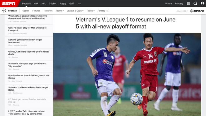 Bóng đá Việt Nam trở lại và thu hút sự chú ý của truyền thông quốc tế bằng những trận cầu đặc biệt nhất thế giới - ảnh 2