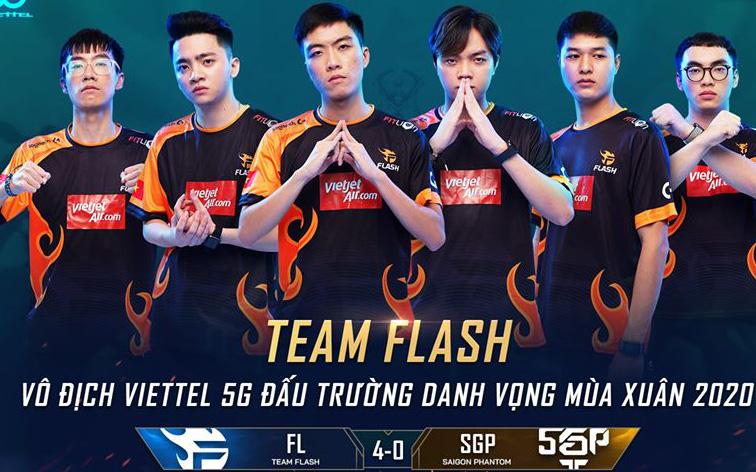 Quá áp đảo! Team Flash hủy diệt Saigon Phantom chỉ sau 4 ván đấu để lên ngôi vô địch ĐTDV lần thứ 4 liên tiếp