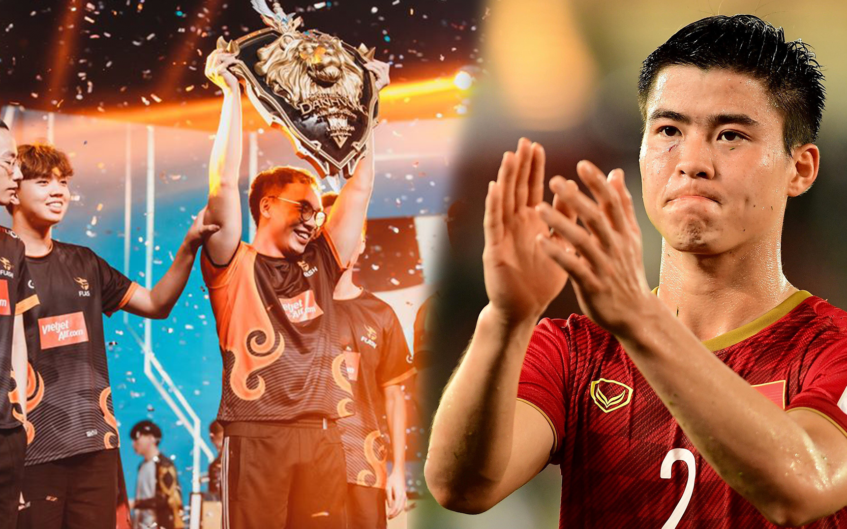 Team Flash vô địch ĐTDV, trung vệ Duy Mạnh ngay lập tức gửi lời chúc mừng tới ProE