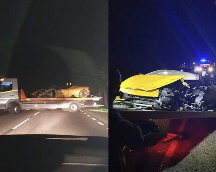 Anh chàng cầu thủ thoát chết thần kỳ sau tai nạn vỡ nát siêu xe Lamborghini đi thuê - ảnh 3