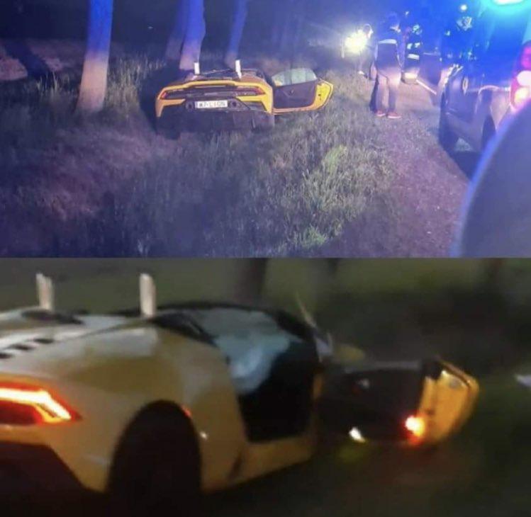 Anh chàng cầu thủ thoát chết thần kỳ sau tai nạn vỡ nát siêu xe Lamborghini đi thuê - ảnh 2