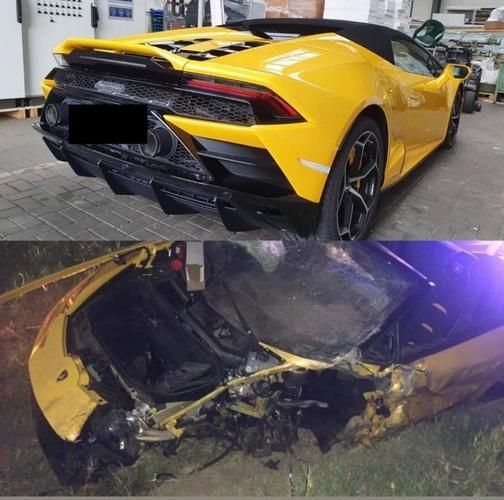 Anh chàng cầu thủ thoát chết thần kỳ sau tai nạn vỡ nát siêu xe Lamborghini đi thuê - Ảnh 1.