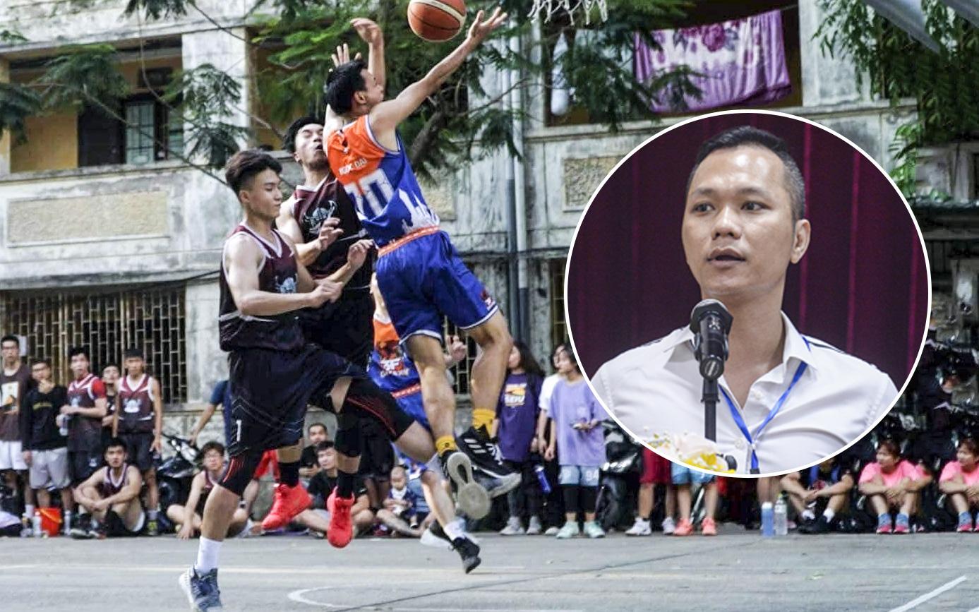 Chủ tịch Hội bóng rổ không chuyên Hà Nội nói gì về pha phạm lỗi làm dậy sóng cộng đồng Thủ đô