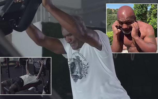 Trước tin đồn chuẩn bị tái đấu Mike Tyson, huyền thoại Evander Holyfield tung video cho thấy sức mạnh kinh hoàng: Tuổi 57 nhưng nâng tạ 100kg ngon ơ