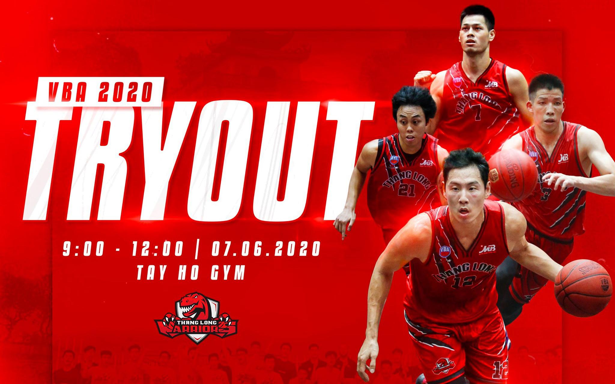 Thang Long Warriors tiếp tục thiết lập kỷ lục mới tại VBA: Giật mình trước số lượng ứng viên tham gia kỳ tuyển quân mùa giải 2020