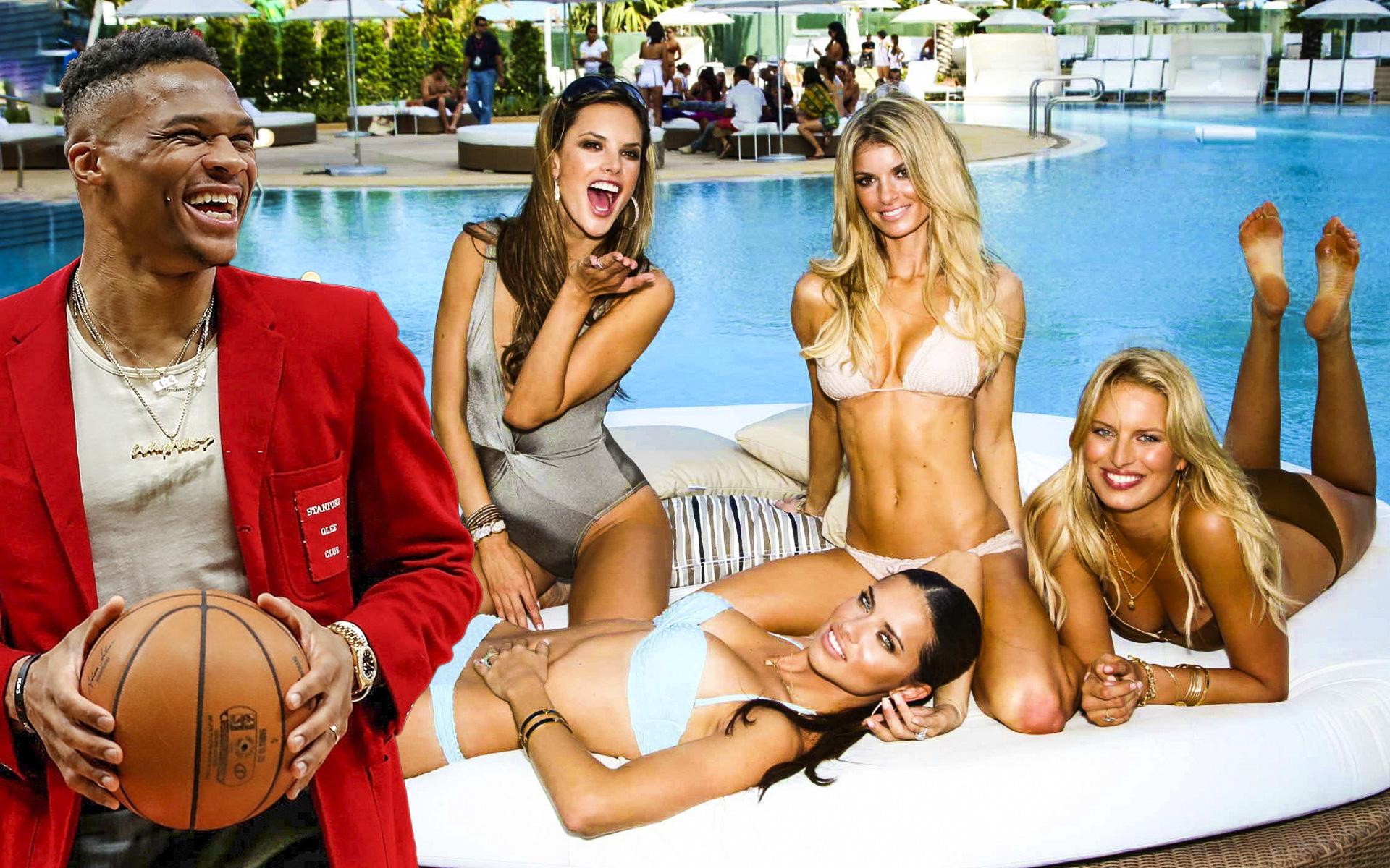 """Russell Westbrook từng tham dự """"pool party"""" tại Las Vegas trước khi dương tính với Covid-19"""