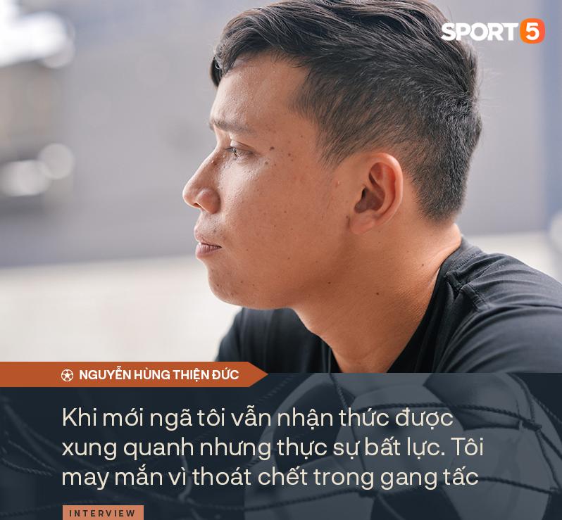 """Sao trẻ U22 Việt Nam trải lòng về ký ức may mắn """"thoát chết trong gang tấc"""" và khát khao đứng lên từ những thất bại - Ảnh 5."""
