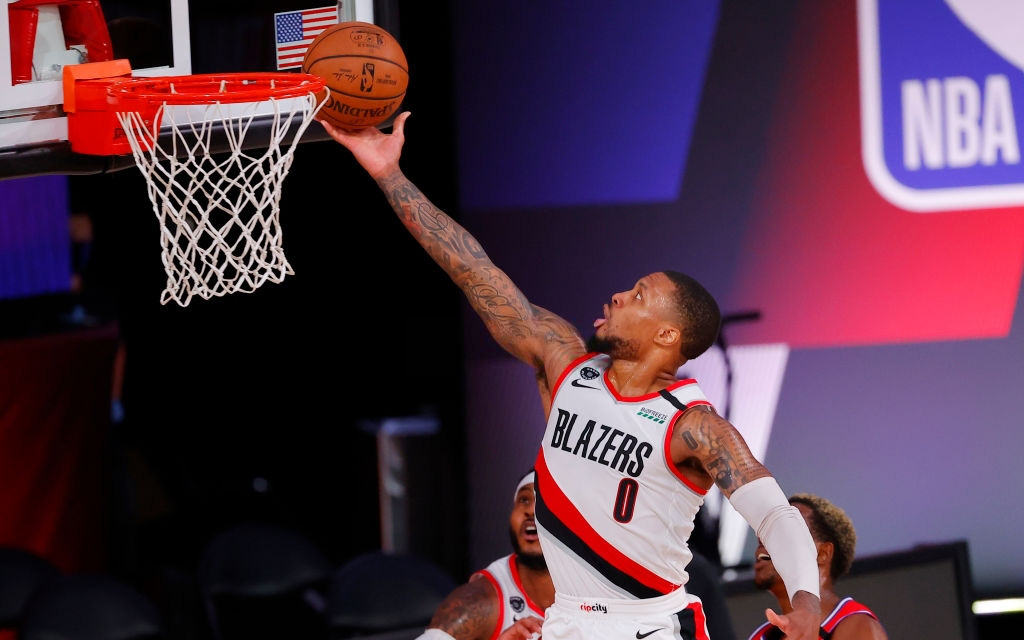 Damian Lillard đập tan mọi hoài nghi, loại Pelicans và Kings khỏi cuộc đua cho tấm vé tham dự vòng Playoffs