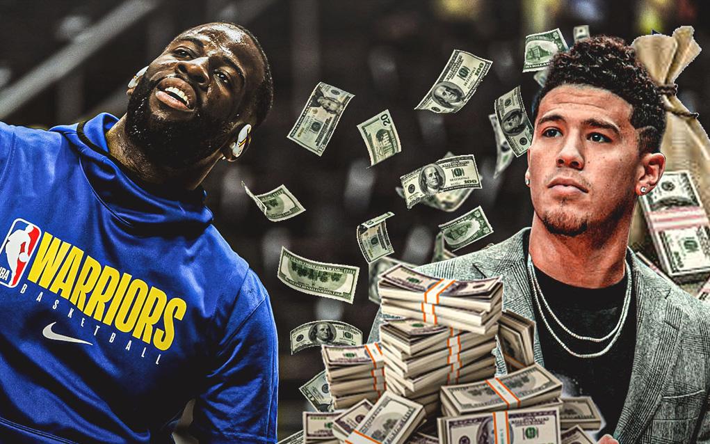 """Draymond Green lại """"đóng tiền"""" cho NBA sau lời khuyên về sự nghiệp của Devin Booker"""