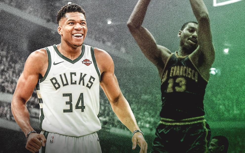 """""""Á thần Hy Lạp"""" đi vào lịch sử NBA, phá vỡ kỷ lục không tưởng của huyền thoại Wilt Chamberlain"""