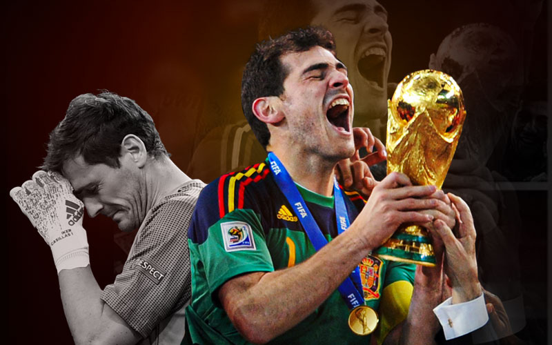 Casillas: Một vị thánh nhưng chứa đựng quá nhiều xúc cảm mãnh liệt của người thường