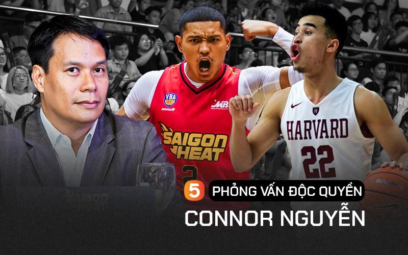 """Phỏng vấn độc quyền ông Connor Nguyễn: """"Christian Juzang sẽ là nhân tố gắn liền với Saigon Heat ở các giải đấu tương lai và cả đội tuyển quốc gia"""""""
