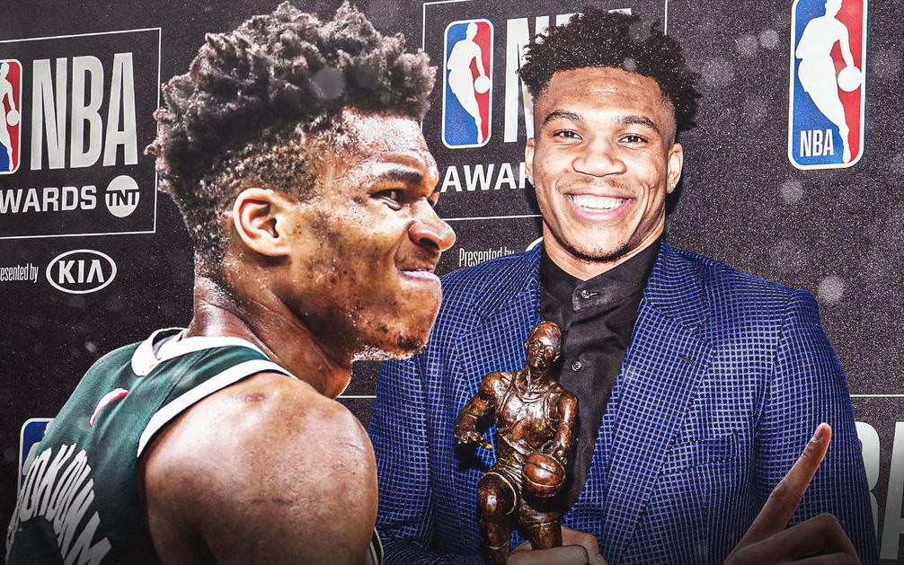 Giannis Antetokounmpo giành danh hiệu MVP NBA 2 năm liên tiếp