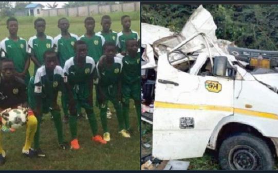 8 cầu thủ trẻ ở châu Phi thiệt mạng sau một vụ tai nạn giao thông nghiêm trọng