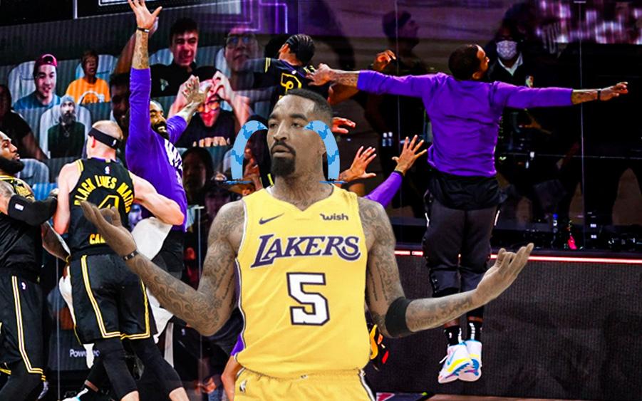 """Xem ngay những khoảnh khắc muốn """"độn thổ"""" của JR Smith trong game 2 chung kết miền Tây NBA 2020"""