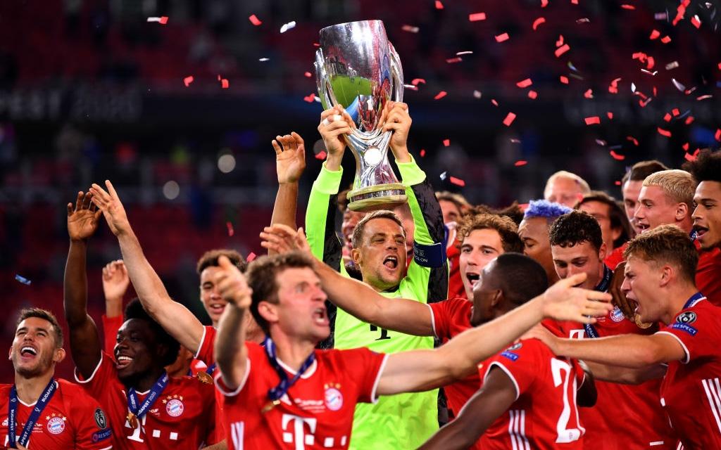 """Bayern Munich giành Siêu cúp châu Âu nhờ """"bàn thắng vàng"""" ở hiệp phụ"""