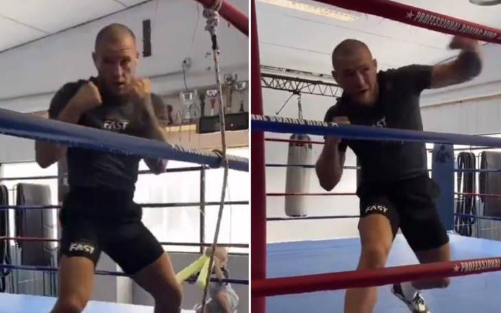 UFC vừa tuyên bố lấn sân sang boxing, Conor McGregor lập tức đăng video ''đánh gió'' khiến các fan thích thú