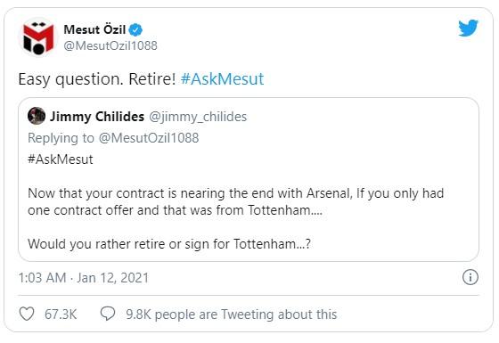 Mourinho đáp trả Ozil siêu gắt sau phát ngôn hạ thấp Tottenham - Ảnh 1.