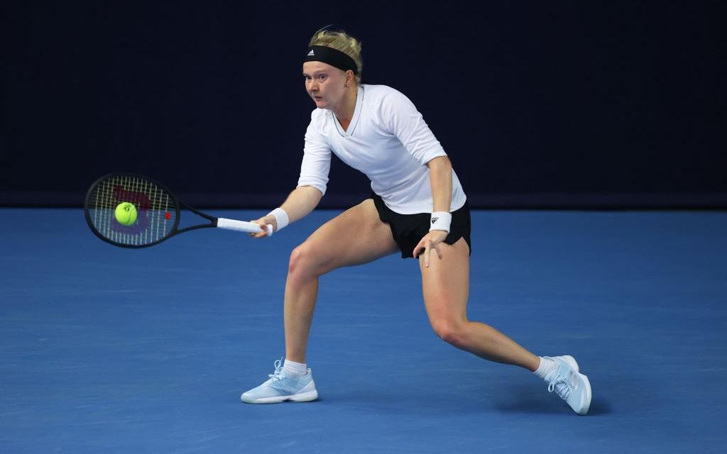 """Tay vợt nữ """"dị nhân"""" ở Australian Open 2021 chỉ có 8 ngón tay và 7 ngón chân"""