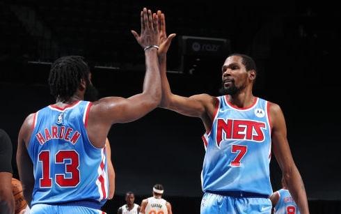 Song sát Brooklyn Nets lập kỉ lục trong ngày James Harden ra mắt
