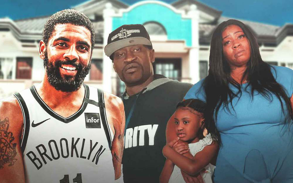Kyrie Irving mua nhà cho người thân nạn nhân bị cảnh sát đè cổ tới thiệt mạng tại Mỹ