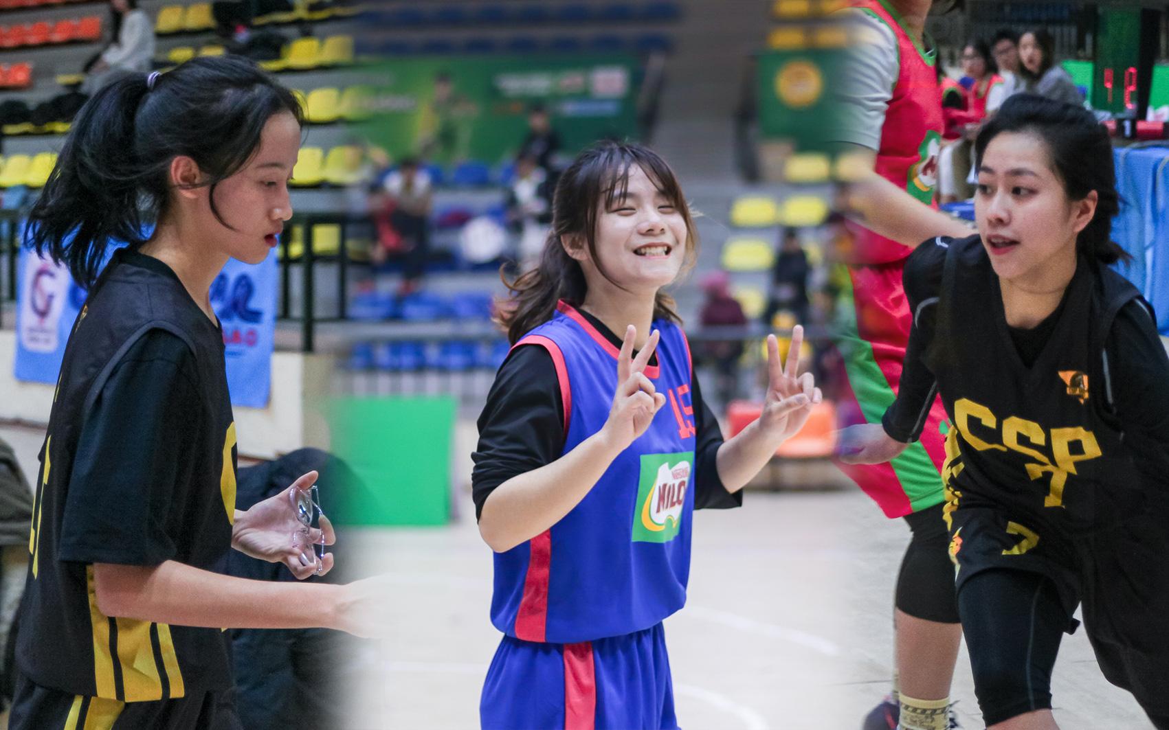 Mê mẩn vẻ đẹp của các nữ cầu thủ tại giải bóng rổ học sinh Hà Nội 2021