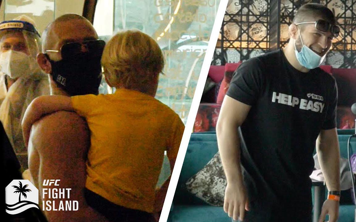 """McGregor và Khabib suýt chạm mặt nhau tại """"Đảo quyết đấu"""""""