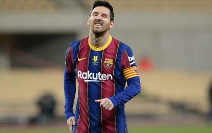Messi lần đầu vắng mặt trong đội hình của năm từ tựa game FIFA 21