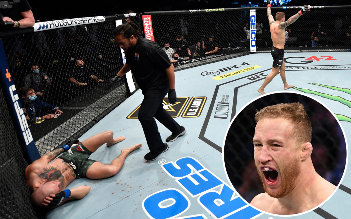 Justin Gaethje hạnh phúc khi chứng kiến thất bại của Conor McGregor: Tôi chưa bao giờ hạnh phúc như thế