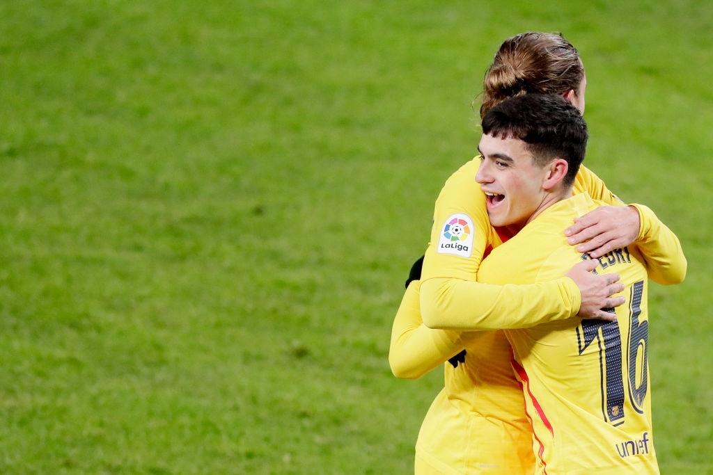 Messi lập cú đúp tinh tế, Barca kết thúc chuỗi ngày u ám để vươn lên top 3 La Liga - Ảnh 2.