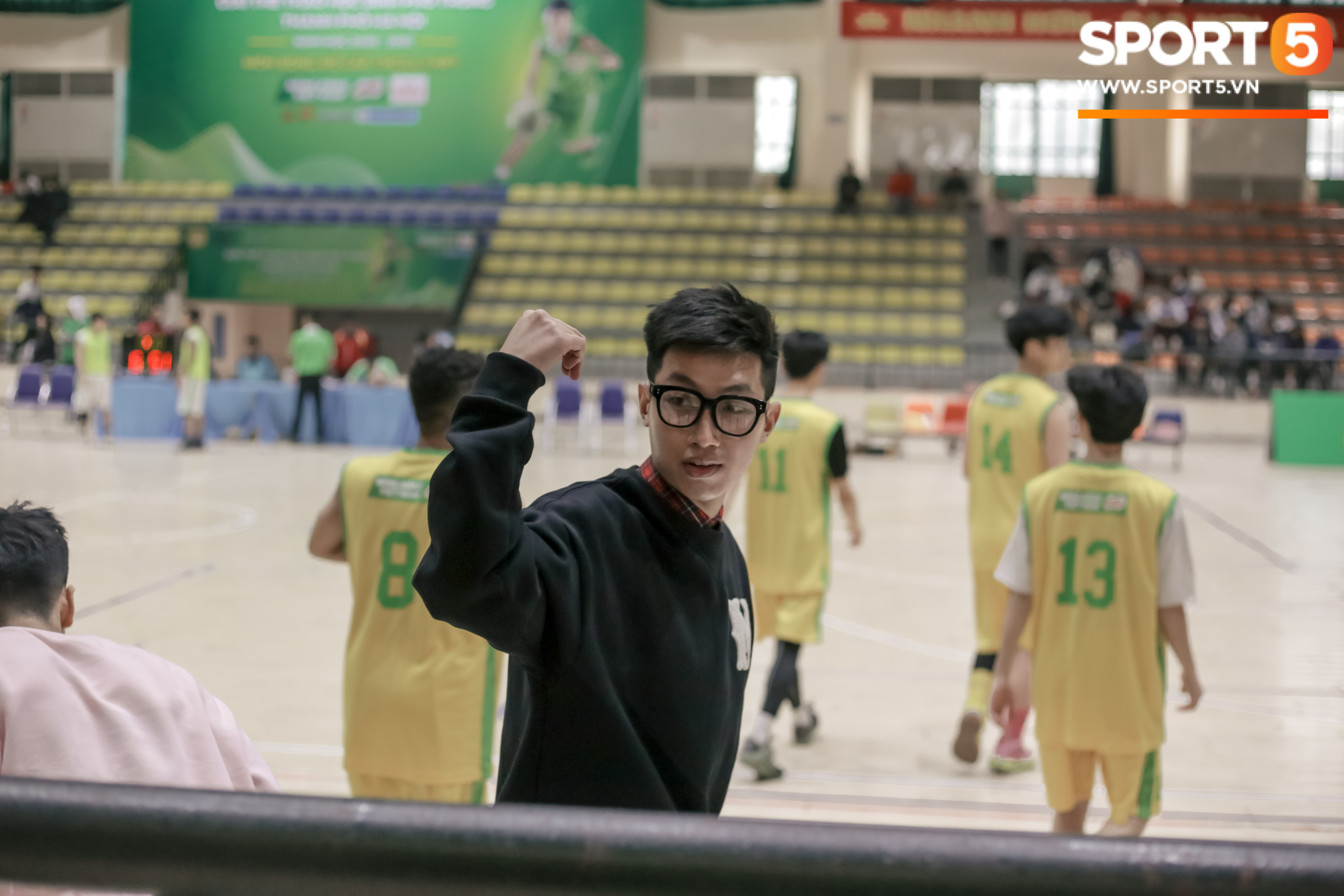 The basketball team of Xuan Mai High School caused a fever with the view from above, the screen of deception made everyone lose their heart - Photo 5.