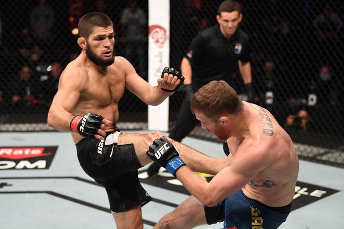 """Michael Chandler tính thắng """"hủy diệt"""" tại trận ra mắt UFC để kéo Khabib trở lại võ đài - Ảnh 3."""