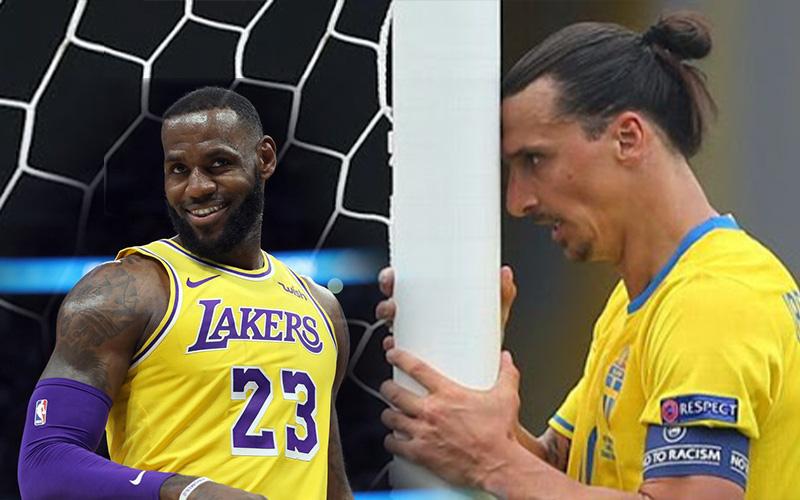 """Bị chỉ trích, LeBron James """"cứa vào vết đau cũ"""" của tiền đạo Zlatan Ibrahimovic"""