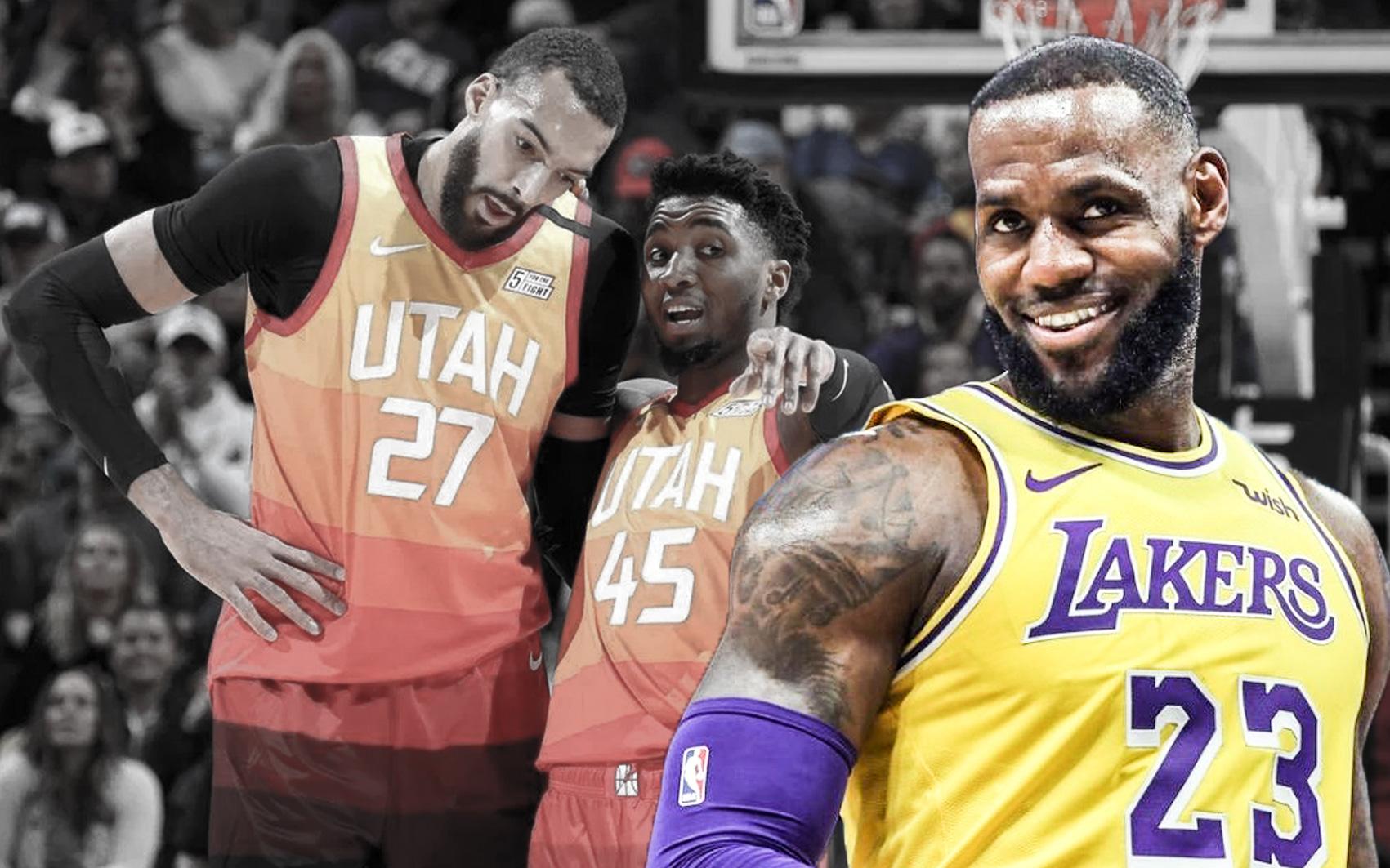 """LeBron James tiết lộ lý do """"hài hước"""" không chọn lựa các cầu thủ Utah Jazz cho đội hình All Star"""