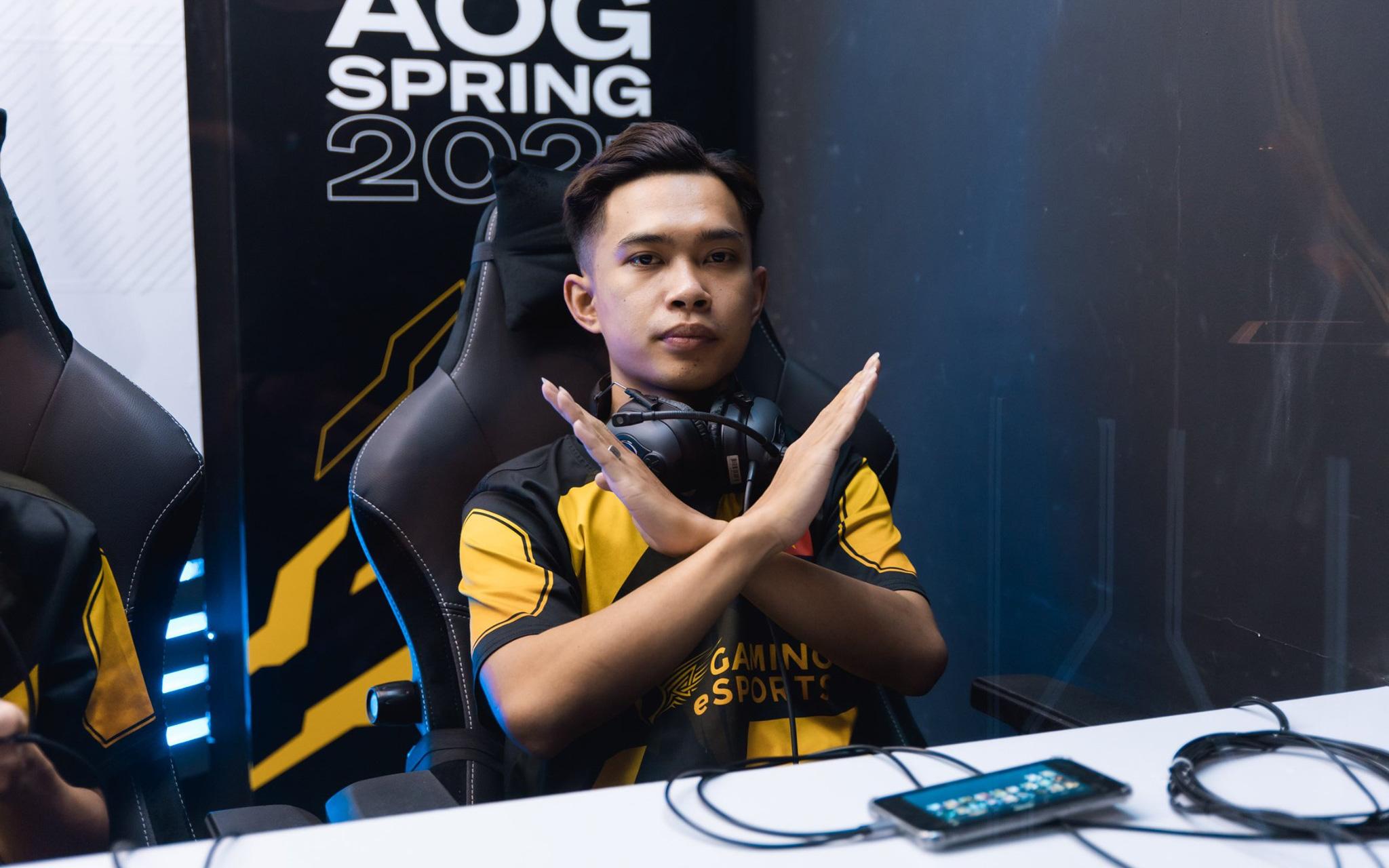 ĐTDV: Sao V Gaming gáy lớn không sợ ai phía nhà Á quân AOG