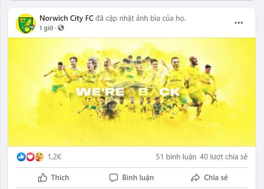 Norwich chính thức quay trở lại với Ngoại hạng Anh chỉ sau một mùa bị xuống hạng - Ảnh 5.