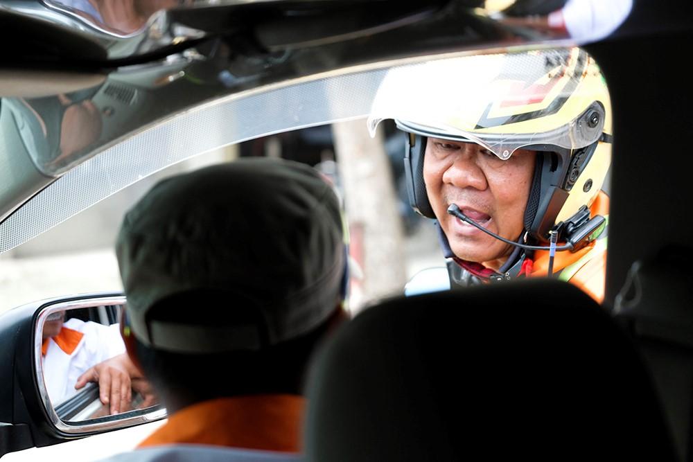 Những hình ảnh tác nghiệp ấn tượng trên tuyến đường dài 2.450km tại Cúp Truyền hình TP. Hồ Chí Minh - ảnh 10