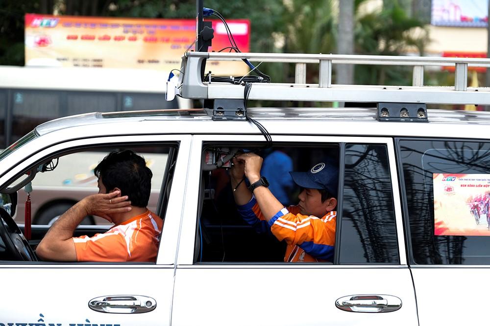 Những hình ảnh tác nghiệp ấn tượng trên tuyến đường dài 2.450km tại Cúp Truyền hình TP. Hồ Chí Minh - ảnh 12