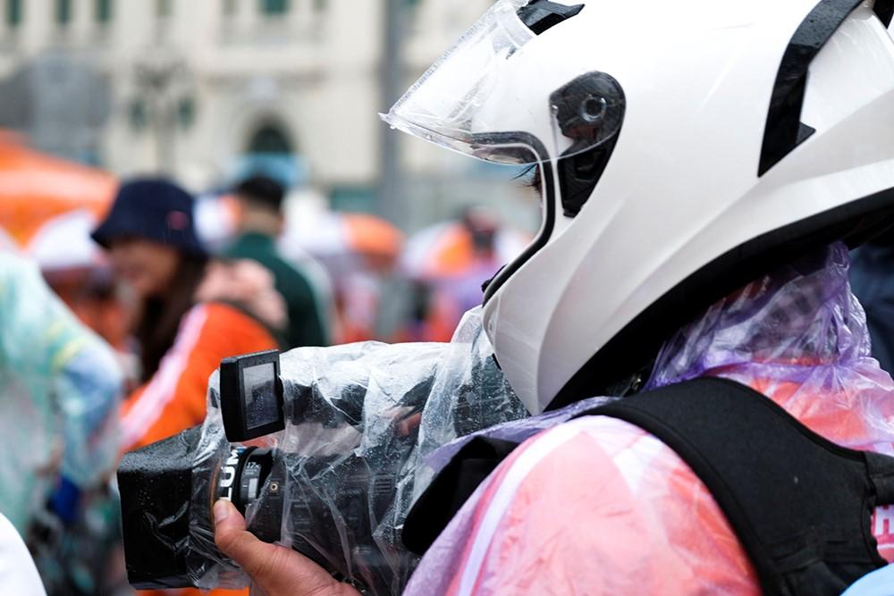 Những hình ảnh tác nghiệp ấn tượng trên tuyến đường dài 2.450km tại Cúp Truyền hình TP. Hồ Chí Minh - ảnh 14