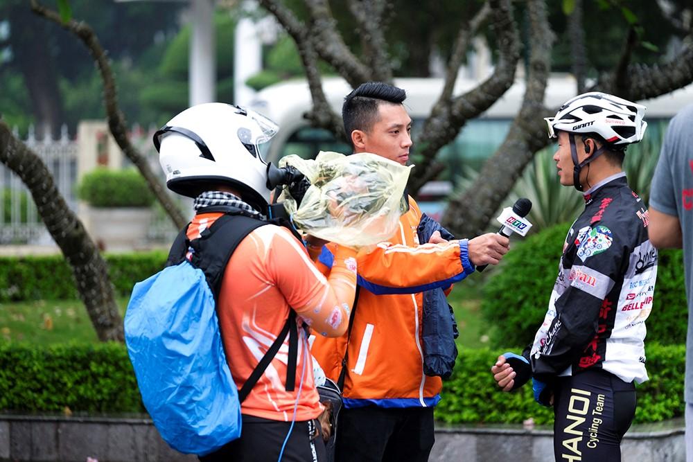Những hình ảnh tác nghiệp ấn tượng trên tuyến đường dài 2.450km tại Cúp Truyền hình TP. Hồ Chí Minh - ảnh 16