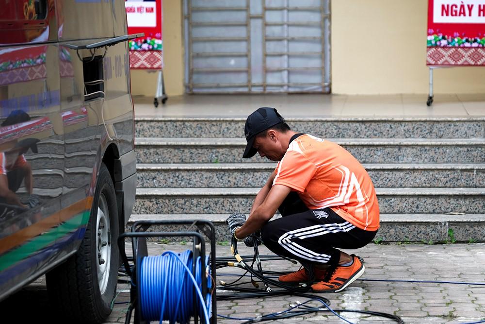 Những hình ảnh tác nghiệp ấn tượng trên tuyến đường dài 2.450km tại Cúp Truyền hình TP. Hồ Chí Minh - ảnh 6