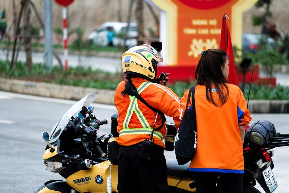 Những hình ảnh tác nghiệp ấn tượng trên tuyến đường dài 2.450km tại Cúp Truyền hình TP. Hồ Chí Minh - ảnh 9